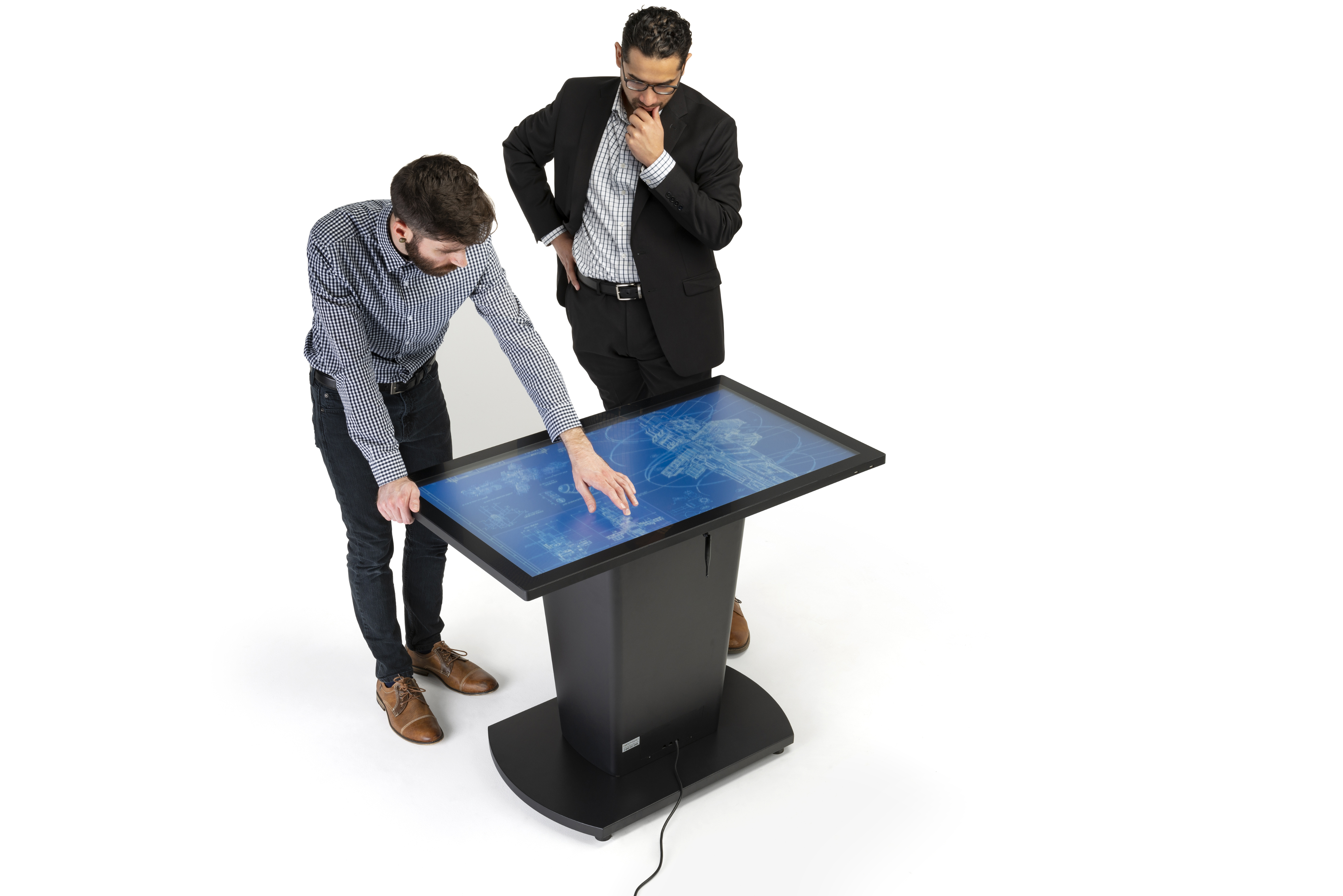 Rolling Interactive Touch Table with Impactful 1080p Screen