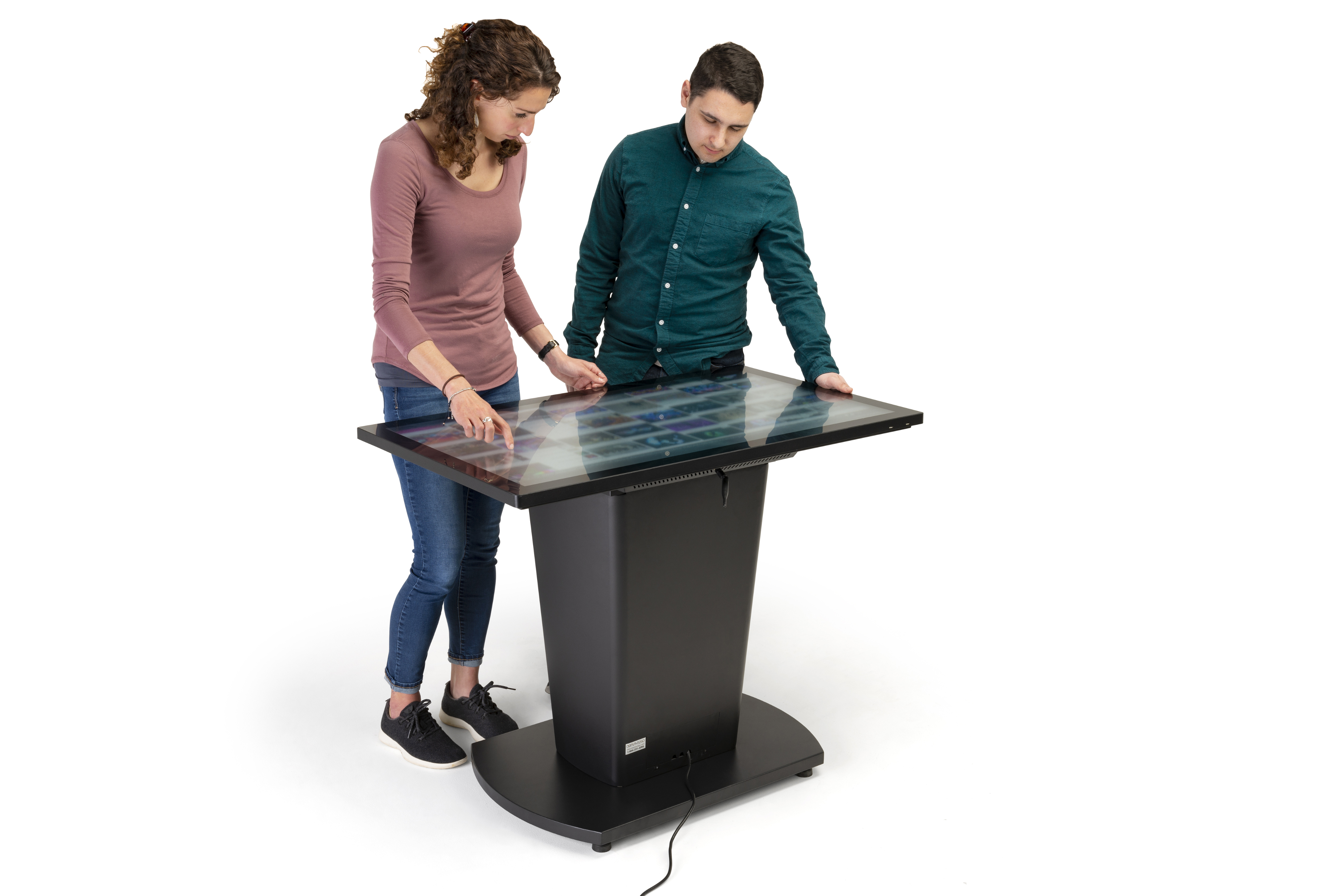 Multi User Capacitive Touch Screen Table for Group Projects