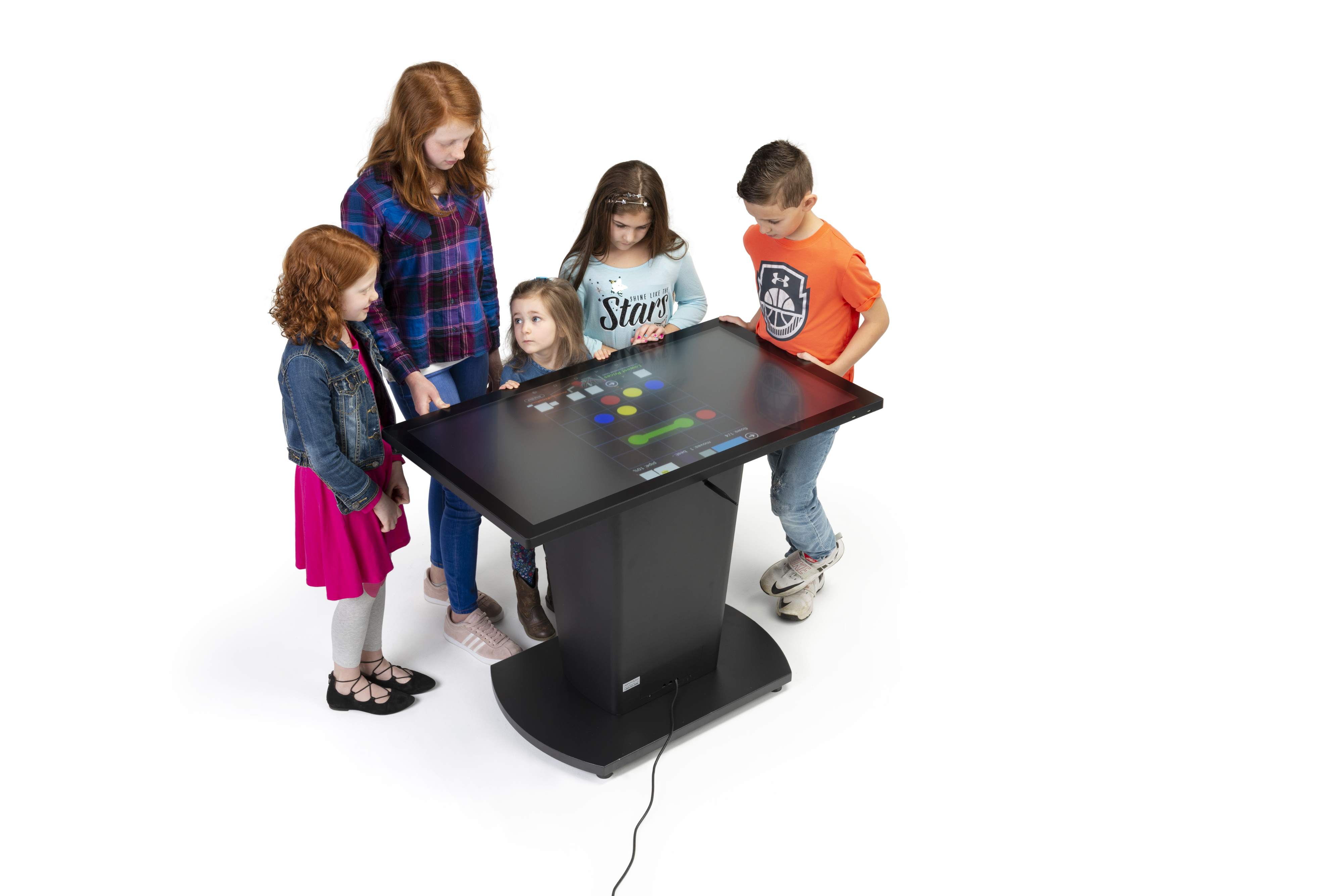 Multifunctional Interactive Touch Table