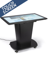 43-inch black interactive touch table with Android OS