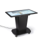 43-inch black LCD interactive touch table with anti-glare coating