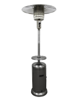 33.5w x 87h freestanding stainless steel patio heater