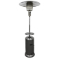 33.5-inch wide by 87-inch tall stainless steel patio heater