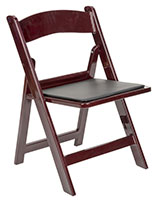 Heavy Duty Folding Polypropylene Chair with High Weight Limit