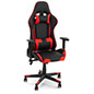 Racing style office chair with modern dual tone design