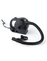 black inflatable furniture air pump