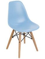 Blue Child Size Iconic Contemporary Chair