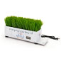 Branded grass charging station with full color graphics