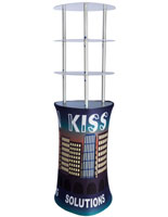 Portable Promotion Graphic Tower Display