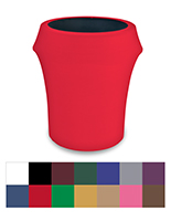 Spandex trash can covers fits 55 gallon size barrels