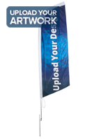 Advertising 10-ft Custom Blade Flag