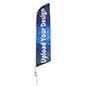 14-ft Custom Advertising Feather Flag Printed on Polyester