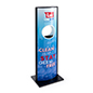 Automatic Hand Sanitizer Advertising Kiosk with 49 inch height