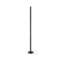 39-inch tall black surface mount art stanchions