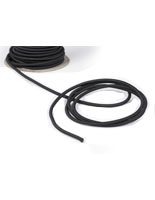 Small Section of the 100-ft Black Elastic Stanchion Cord