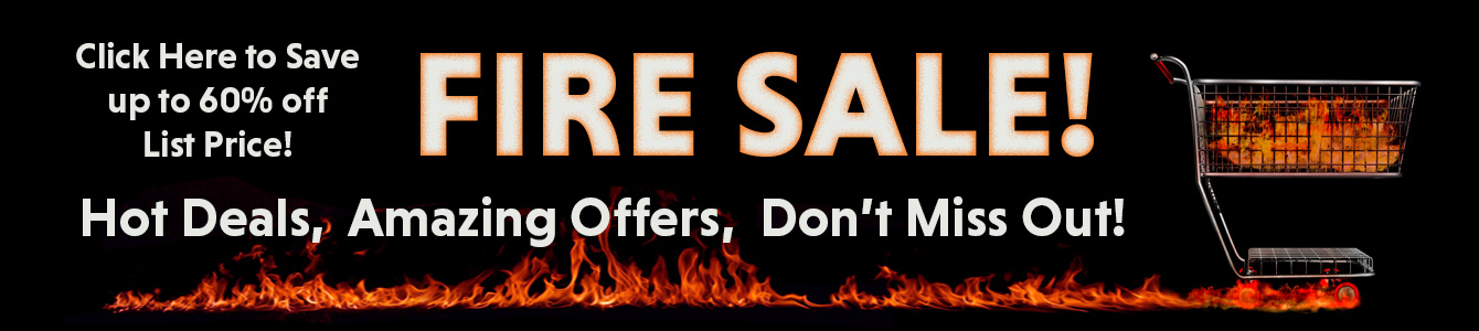 Displays2go's Fire Sale on Now!