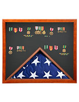 Flag Shadow Box with 2-in-1 Design
