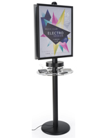 Phone Charger Tower for Trade Show Events