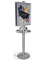 Double Sided Phone Charger Kiosk