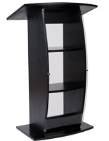 Clear replacement panel for FLCT series lecterns with shatter-resistant design