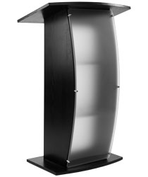 Black Lectern Stand