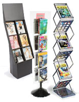 Floor Magazine Racks