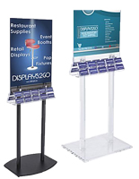 Floor Standing Business Card Holders