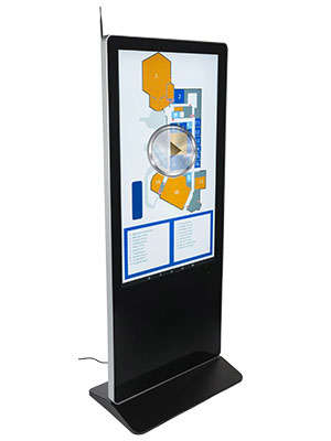 floorstanding digital sign solutions