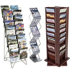 Floor Standing Magazine Holders