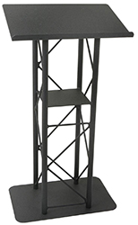 floor standing metal truss podium