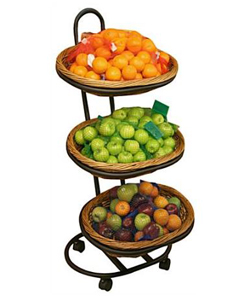 floor fruit stand