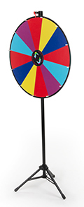 Floor Standing Prize Wheel Games