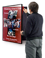 easy open poster frame