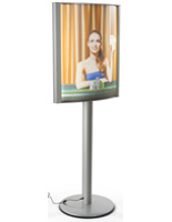Double Sided 22 x 28 Curved Lightbox Stand