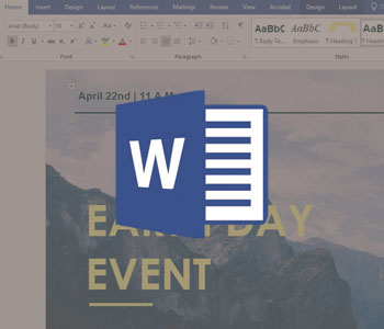 How to make a brochure in Word