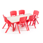 Red Toddler Table and Chair Sets