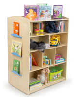 kid's library book storage unit