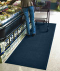 Navy Blue Floor Mat