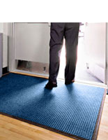 Medium Blue Entry Mats