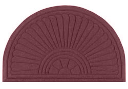 Maroon Entry Mats