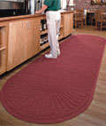 Maroon Commercial Mats