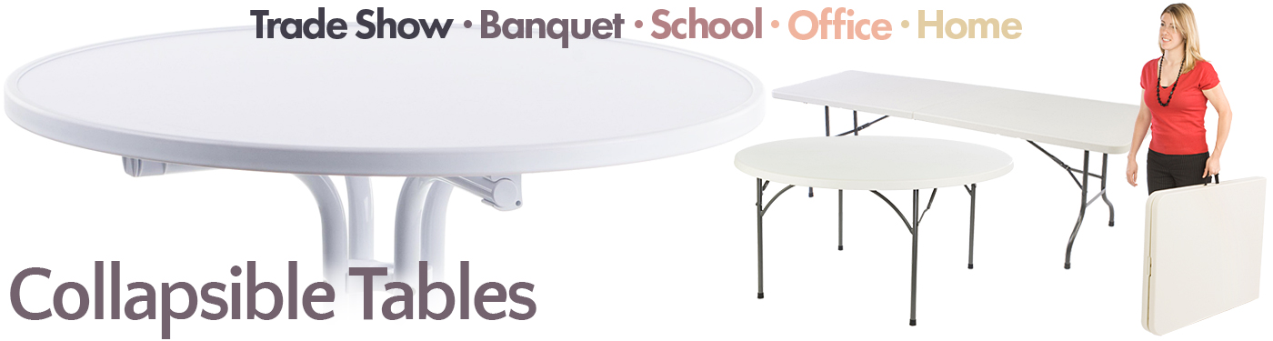 Folding Tables For Sale Commercial Trade Show Event Furniture