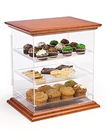 Food service displays protect contents and preserve freshness!