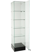 Frameless Tower Cabinet