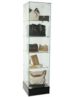 Retail Tower Display Case