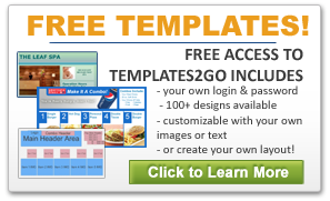 Free Digital Sign Templates Included with Purchase