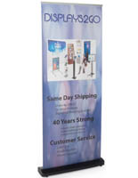 "33.5"" Wide Custom Retractable Banner"