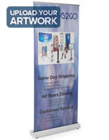 "33.5"" Wide Retractor Banner Display"