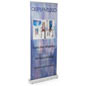 Retractor Banner Display with Telescoping Pole