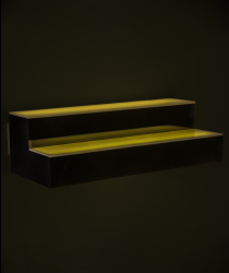 lighted bar shelf bottle glorifier